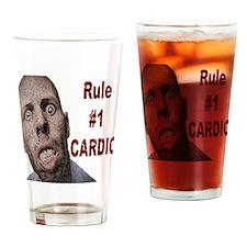 Zombie Cardio Drinking Glass