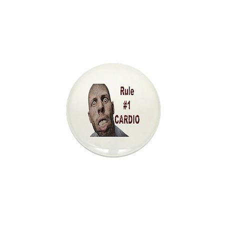 Zombie Cardio Mini Button (10 pack)