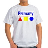Primary Colors Ash Grey T-Shirt