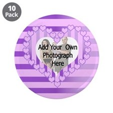 """Personalized Cute pink heart photo gifts 3.5"""" Butt"""
