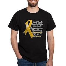 Appendix Cancer Strong Survivor T-Shirt