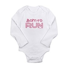 borntorun pink1 Body Suit