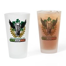 Irish Power Hour Logo Drinking Glass