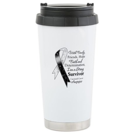 Carcinoid Cancer Survivor Ceramic Travel Mug