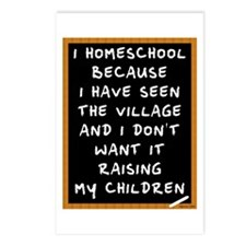 I Homeschool Too Postcards (Package of 8)