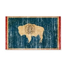Wyoming Flag Wall Decal