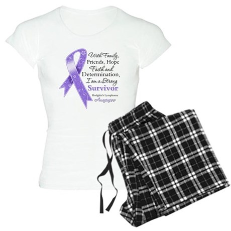 Strong Hodgkins Lymphoma Women's Light Pajamas