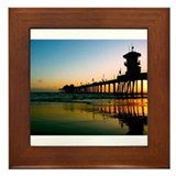 Cool Scenery Framed Tile