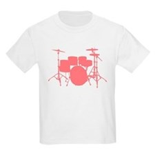 Funny Drum set kids T-Shirt
