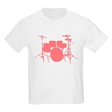 Cute Drum set kids T-Shirt