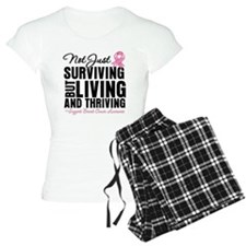 Thriving - Breast Cancer Pajamas