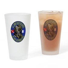 NAVY DIVER Drinking Glass