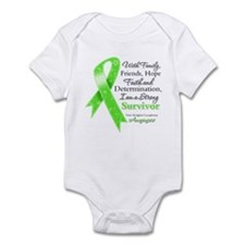 Non-Hodgkins Strong Survivor Infant Bodysuit