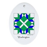 Washington Ornament (Oval)