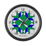 Washington Large Wall Clock
