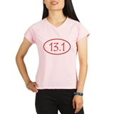 halfmarathon shirt-red.png Performance Dry T-Shirt