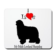 Polish Lowland Sheepdog Mousepad