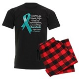 Ovarian Cancer Strong Survivor pajamas