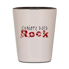 Seniors 2012 Rock Shot Glass