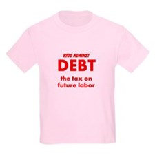 Kids Against Debt, Tax on Future Labor T-Shirt