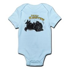 Black Newfie Totally Hairifying Onesie