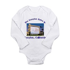 Compton Drive-In Long Sleeve Infant Bodysuit