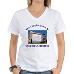 Compton Drive-In Women's V-Neck T-Shirt