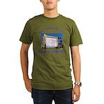 Compton Drive-In Organic Men's T-Shirt (dark)