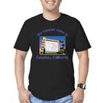 Compton Drive-In Men's Fitted T-Shirt (dark)