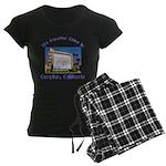 Compton Drive-In Women's Dark Pajamas