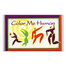 Color Me Human Decal