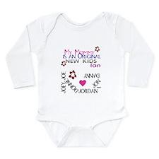 Unique Blocks Long Sleeve Infant Bodysuit
