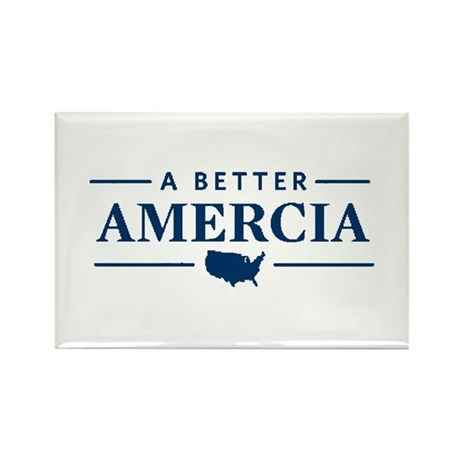 A Better Amercia Rectangle Magnet