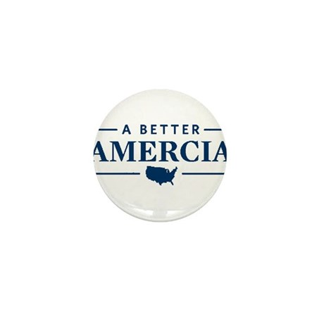 A Better Amercia Mini Button (10 pack)