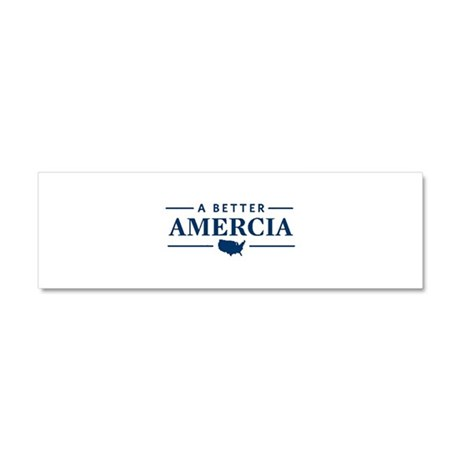 A Better Amercia Car Magnet 10 x 3