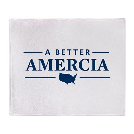 A Better Amercia Throw Blanket