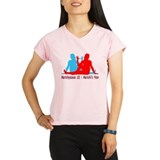 Yoga Marichis Pose Performance Dry T-Shirt