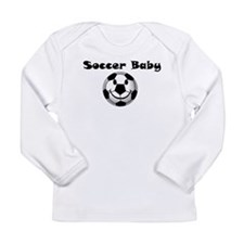 soccer baby Long Sleeve Infant T-Shirt