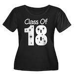 Class of 2018 Gift Women's Plus Size Scoop Neck Da