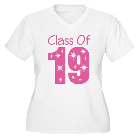 Class of 2019 Gift Women's Plus Size V-Neck T-Shir