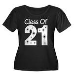 Class of 2021 Gift Women's Plus Size Scoop Neck Da