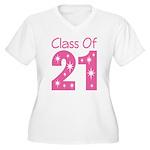 Class of 2021 Gift Women's Plus Size V-Neck T-Shir