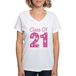 Class of 2021 Gift Women's V-Neck T-Shirt