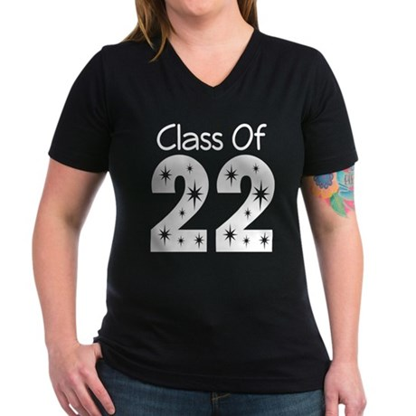Class of 2022 Gift Women's V-Neck Dark T-Shirt