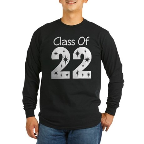 Class of 2022 Gift Long Sleeve Dark T-Shirt