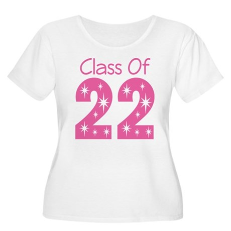 Class of 2022 Gift Women's Plus Size Scoop Neck T-