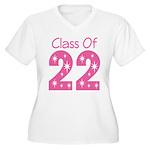 Class of 2022 Gift Women's Plus Size V-Neck T-Shir