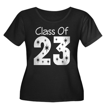 Class of 2023 Gift Women's Plus Size Scoop Neck Da