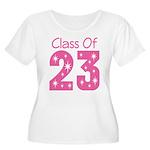Class of 2023 Gift Women's Plus Size Scoop Neck T-