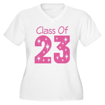 Class of 2023 Gift Women's Plus Size V-Neck T-Shir